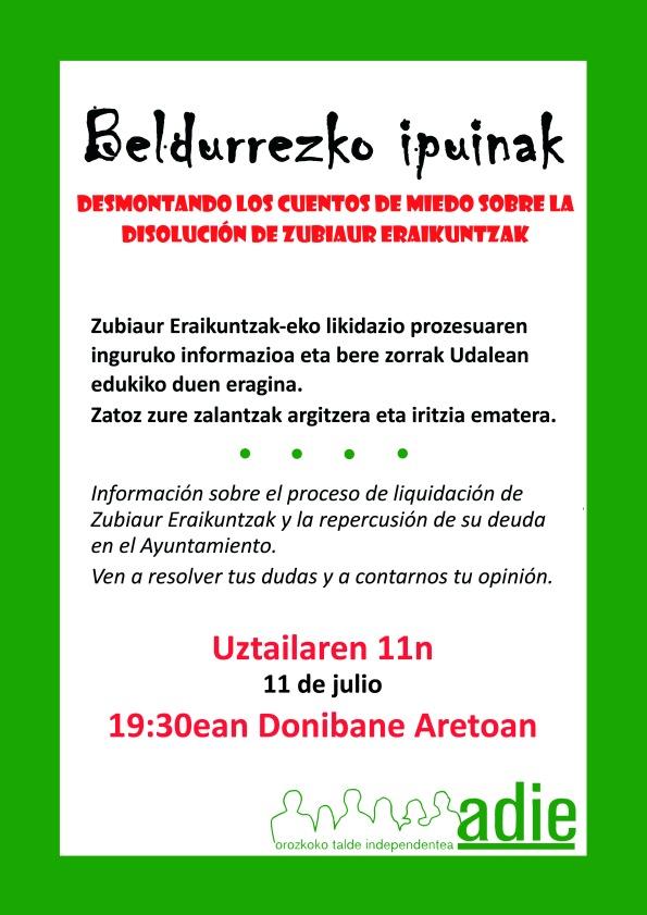 Asamblea informativa julio2014